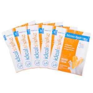5 IdealShake Orange Cream Samples