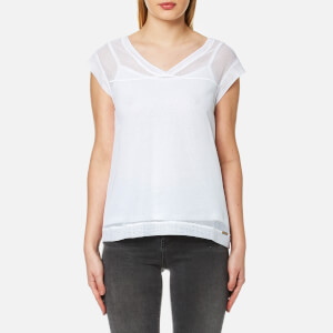 BOSS Orange Women's Tameshy Top - White