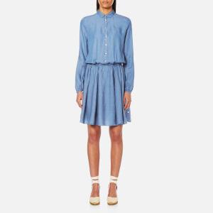 BOSS Orange Women's Clace Dress - Open Blue