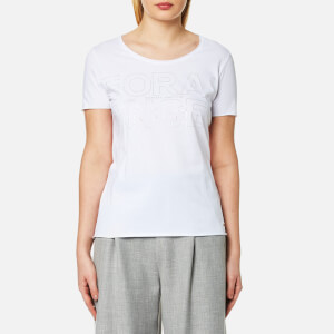 BOSS Orange Women's Tashirt T-Shirt - White