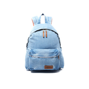 Eastpak Padded Pak'r Kuroki Denim Limited Edition Backpack - Bleach Wash