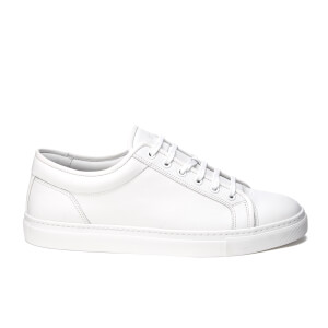 ETQ. Men's Low Top 1 Leather Trainers - White