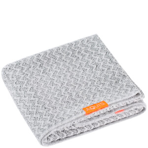 Aquis Hair Towel Lisse Luxe -turbaanipyyhe, Chevron