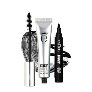 Eyeko Fat Brush Mascara & Fat Liquid Eyeliner Duo (Wert 48€)