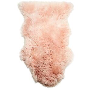 royal dream large sheepskin rug heavenly pink image 5