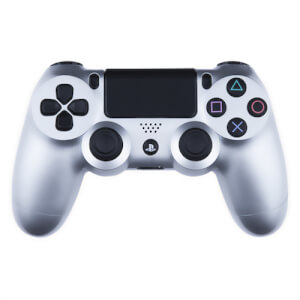 Playstation 4 Custom Controller - Gloss Silver Edition
