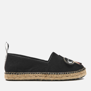 KENZO Women's K Patch Espadrilles - Black