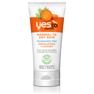 yes to Carrots Fragrance-Free Exfoliating Cleanser