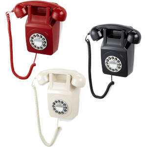 GPO Retro 746 Push Button Wall Telephone