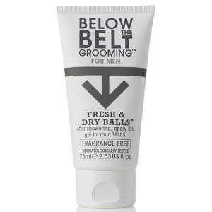 Below the Belt Fresh & Dry Balls 75ml - Fragrance Free