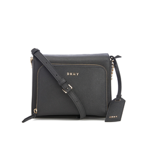 DKNY Women's Bryant Park Pocket Cross Body Bag - Black