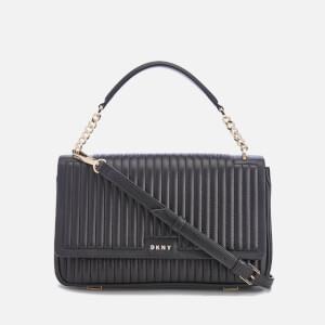 DKNY Women's Gansevoort Flap Shoulder Bag - Black