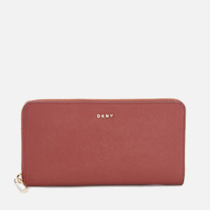 DKNY Women's Bryant Park Large Zip Around Purse - Scarlet