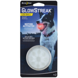 GlowStreak LED Ball Red