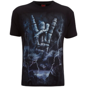 Spiral Men's Rock Eternal T-Shirt - Black