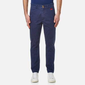Vivienne Westwood Anglomania Men's Classic Chinos - Blue/Red