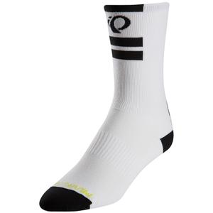 Pearl Izumi Elite Tall Socks - Pi Core White