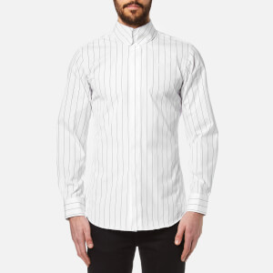 Vivienne Westwood MAN Men's Striped Krall Long Sleeve Shirt - White