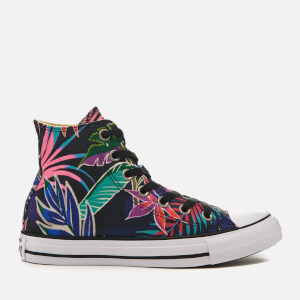 Converse Women's Chuck Taylor All Star Hi-Top Trainers - Fuchsia Glow/Menta/White