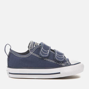 Converse Toddlers' Chuck Taylor All Star 2V Ox Trainers - Athletic Navy/White