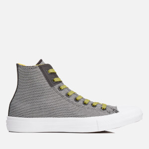 Converse Men's Chuck Taylor All Star II Hi-Top Trainers - Black/White/Fresh Yellow