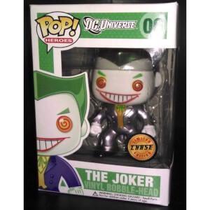 DC Comics Funko Joker (Chase Bobblehead) Pop! Vinyl