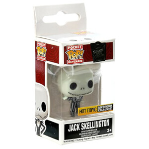 Funko Jack Skellington (Glow In The Dark) Pop! Keychain