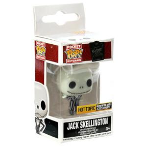 Disney Funko Jack Skellington (Glow In The Dark) Pop! Keychain