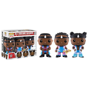 Funko Big E / Xavier Woods / Kofi Kingston Pop! Vinyl