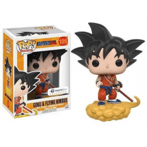 Funko Goku & Flying Nimbus (Orange Suit) Pop! Vinyl