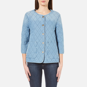 Barbour Heritage Women's Ros Overshirt - Bleach Wash