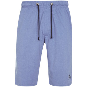 Tokyo Laundry Men's Greenbury Lounge Shorts - Cornflower Blue Marl