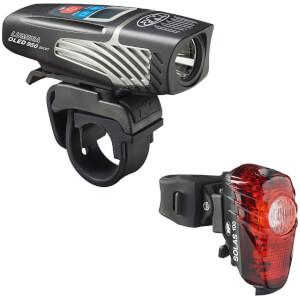 Niterider Lumina OLED 950 and Solas 100 Light Set