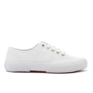 Lauren Ralph Lauren Women's Jolie-Ne Lace Up Vulcanised Trainers - White