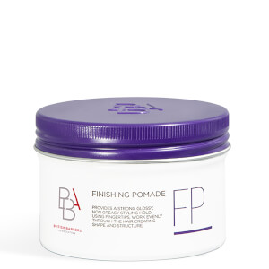 British Barbers' Association Finishing Pomade 100ml
