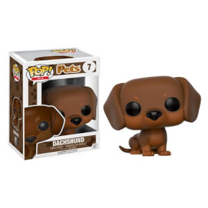 Figurine Funko Pop! Pets Teckel Marron