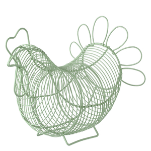 Eddingtons Chicken Egg Basket - Green