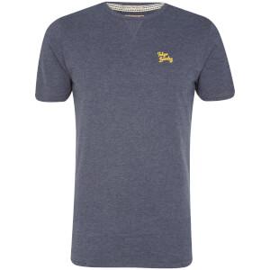 T-Shirt Homme Essential Col Rond Tokyo Laundry - Bleu Indigo Chiné