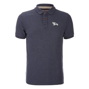Tokyo Laundry Men's Penn State Polo Shirt - Mood Indigo Marl