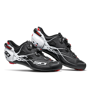 Sidi Shot Carbon Cycling Shoes - Matt Black/Gloss White