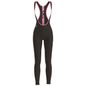Alé Women's Solid Bib Tights - Black/Pink