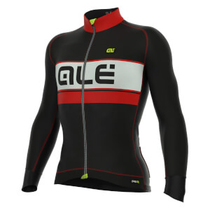Alé PRR Graphics Bering Jersey - Black/Red