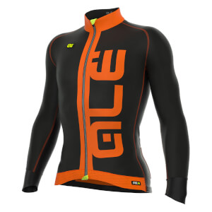 Alé PRR Arcobaleno Long Sleeve Jersey - Black/Orange