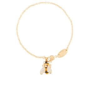 Vivienne Westwood Women's Bumble Bracelet - Black & Yellow/Gold