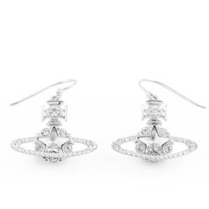 Vivienne Westwood Women's Astrid Earrings - Crystal/Rhodium