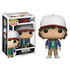 Stranger Things Dustin con Bussola Figura Pop! Vinyl