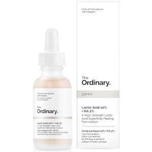 The Ordinary Lactic Acid 10 % + HA 2% Superficial Peeling Formulation 30 ml