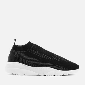 Filling Pieces Men's Knits Runner Trainers - Black/Grey