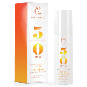 Vita Liberata Passionflower and Argan Dry Oil SPF50 100ml