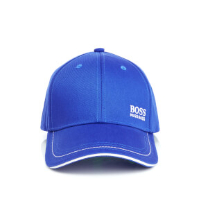 BOSS Green Men's Small Logo Cap - Royal Blue